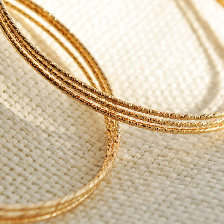 Lola Large Gold Hoops