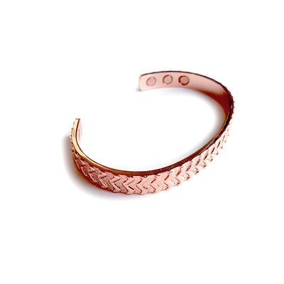 Draco Magnetic Copper Bangle | ALPHA™ mens