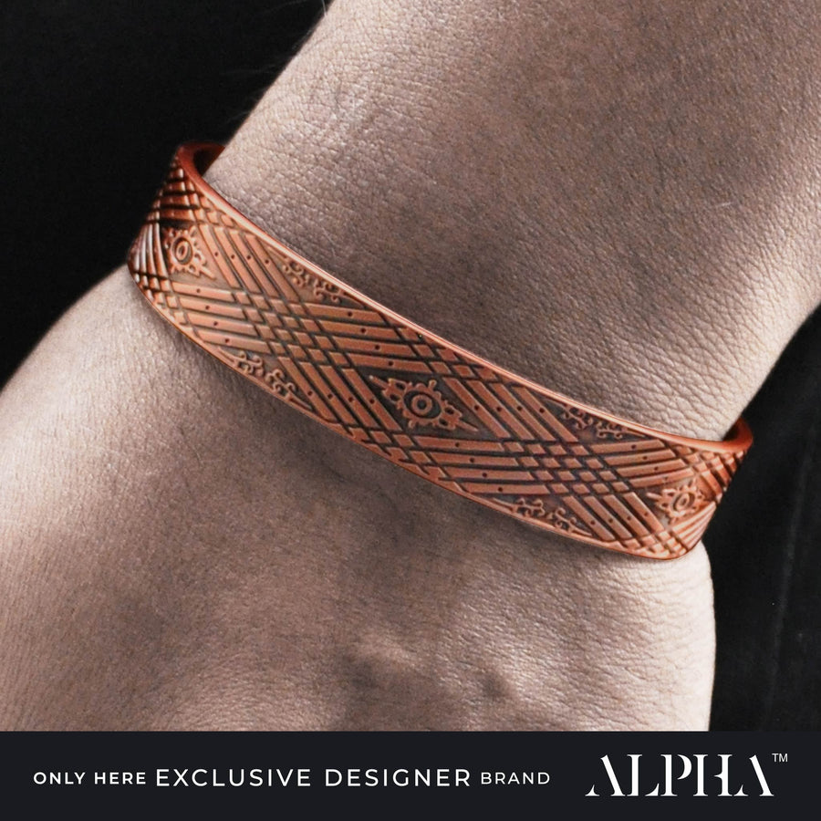 Drax copper magnetic bracelet  | ALPHA™ mens