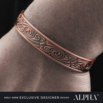 mens copper bracelet