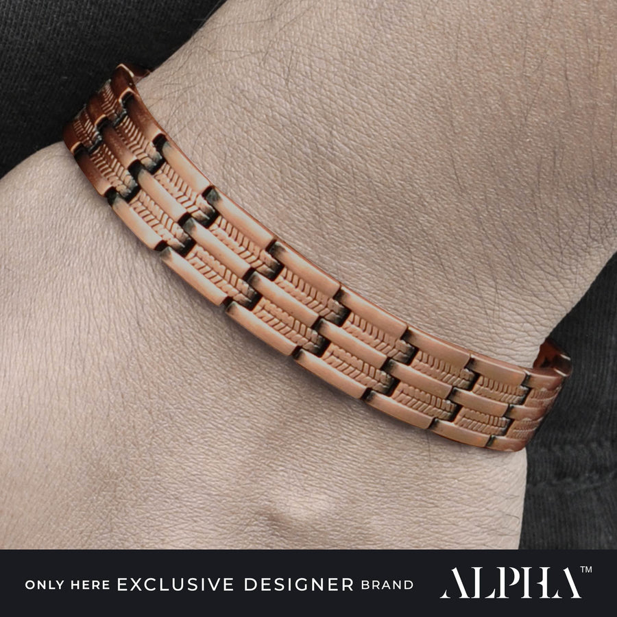 Nova Copper Bracelet | ALPHA™ mens