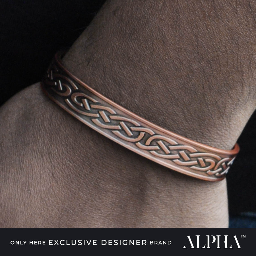 Odin copper magnetic bracelet | ALPHA™ mens