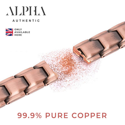 pure solid copper bracelet