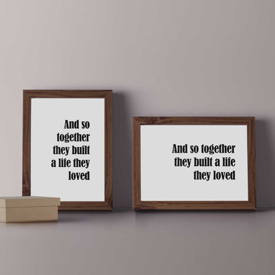 poster wall prints quotes