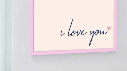 Love quote wall art