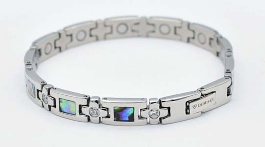 womens stainless steel magnetic bracelets