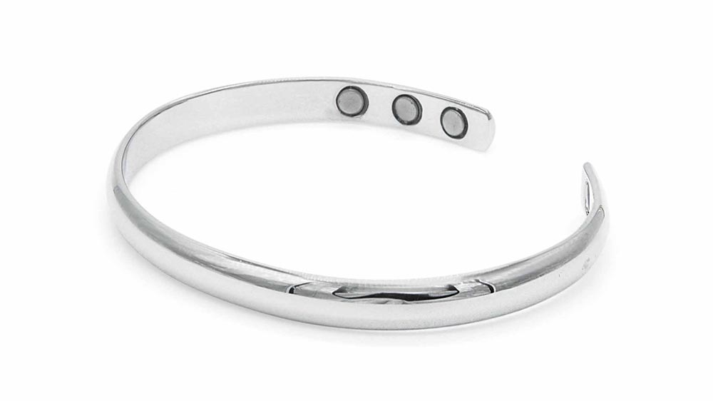 womens silver bangles