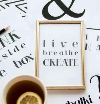 Motivational wall art and posters