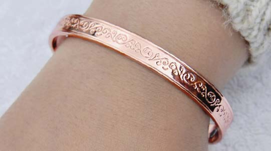 womens copper bangles
