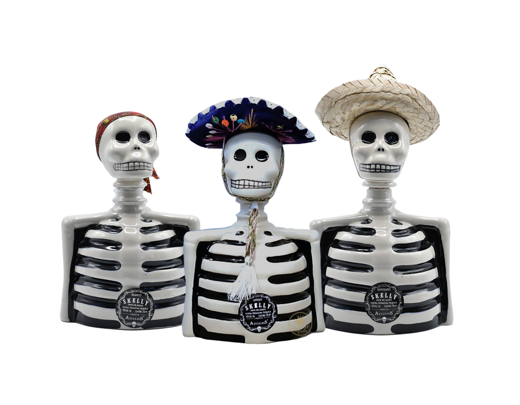 Tequila Los Azulejos Complete Skelly Collection