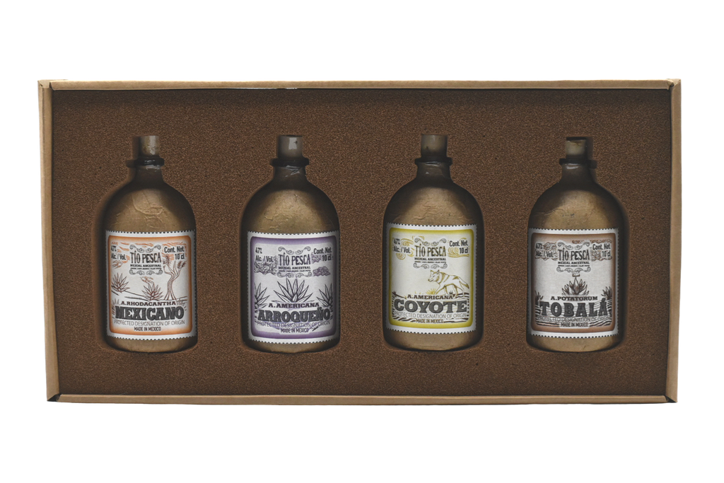 Tio Pesca Mezcal Travell Kit (Ancestral)
