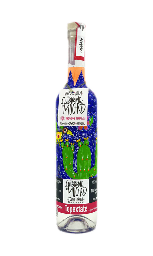 Mezcal Quiereme Mucho Tepextate
