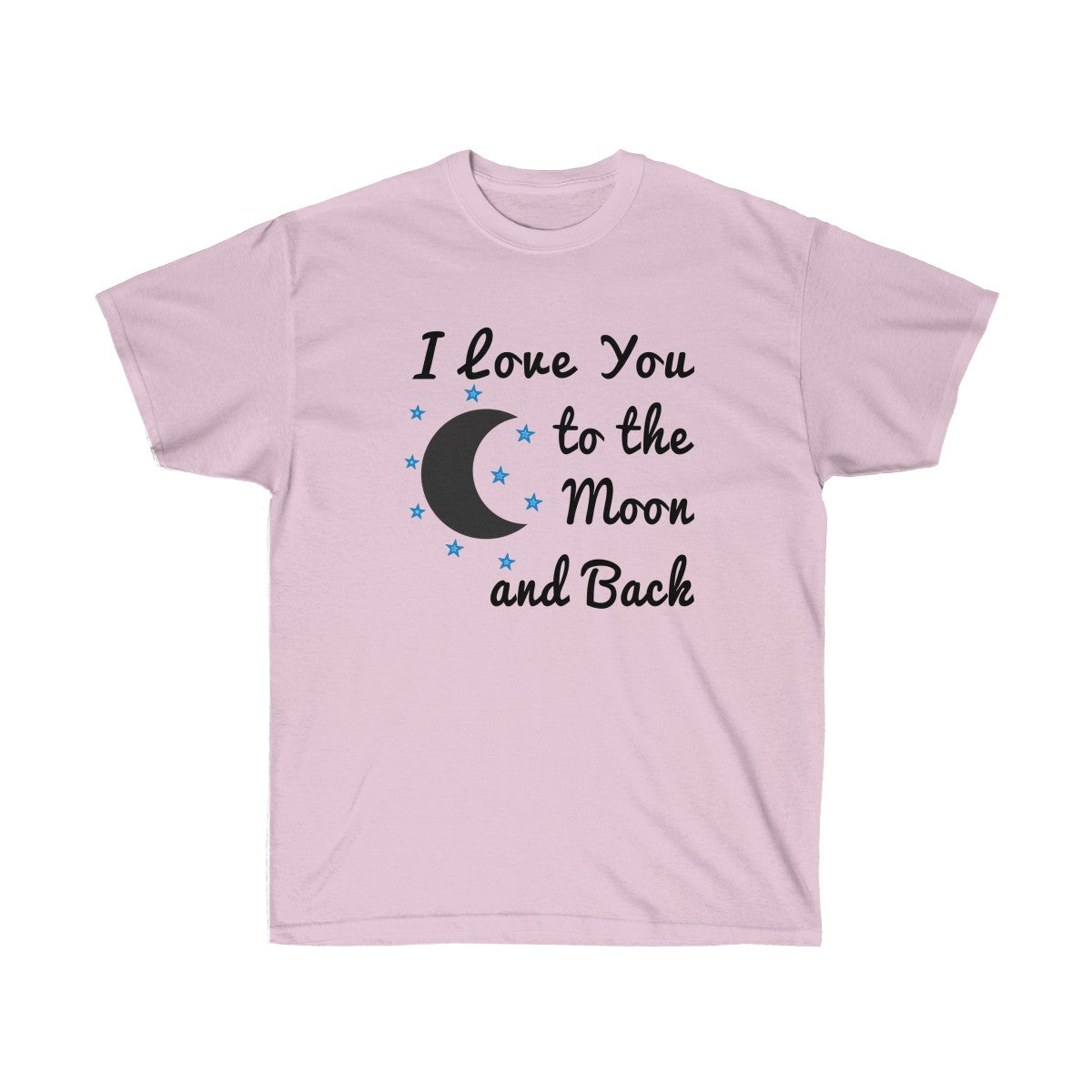 bcf1e927d I Love You to the Moon and Back T-shirt - Love t shirts for Couples ...