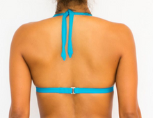 Halter Electric Blue