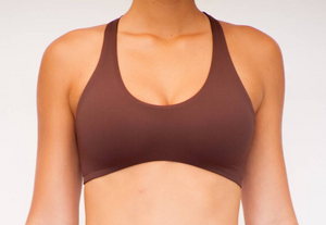 Reversible Yogini Surf Top Chocolate