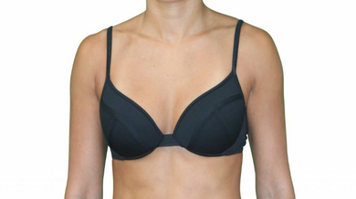 Demi Underwire Black