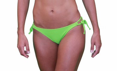 Skimpy Double Tie Lime Green