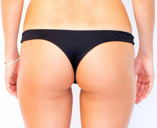 Reversible Thong Black