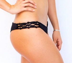 Reversible Skimpy Rio w/ Braids Black