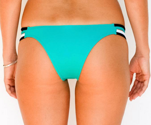 Skimpy Rio w/ Side Strings Sea Green Tri Color