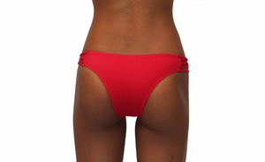 Skimpy Love with Braided Sides Red