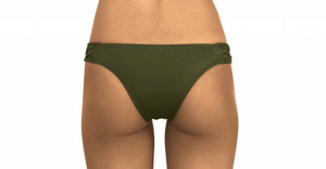 Skimpy Love with Braided Sides Olive