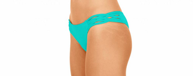 Skimpy Love with Braided Sides Sea Green