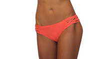 Scoop w/ Side Strings Coral