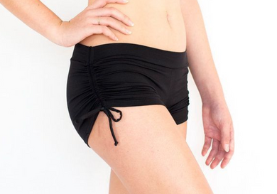 Drawstring Short Black