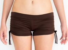 Drawstring Short Chocolate