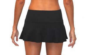 Skirt w/ Attached Bottom Black