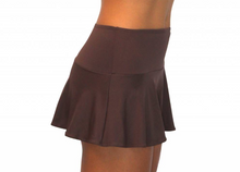 Skirt w/ Attached Bottom Chocolate