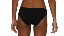 Mesh Scoop Bottom Black