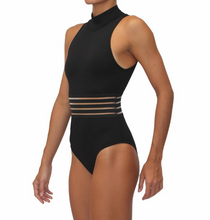 High Neck One Piece Black