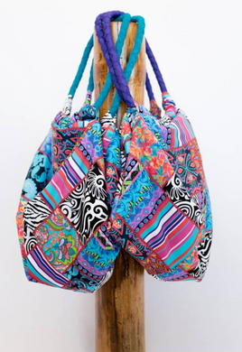 Beach Bag Patchwork pattern