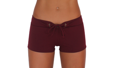 Hot Pant Maroon