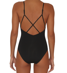Full Bottom One Piece Black
