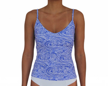 V-Front Tankini Waves