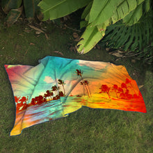 "Surfer Towel ""Tropics"" by Matthew Allen"