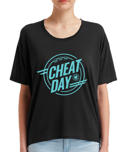 Cheat Day Ladies Dolman Shirt