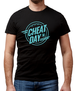 Cheat Day Black T-Shirt