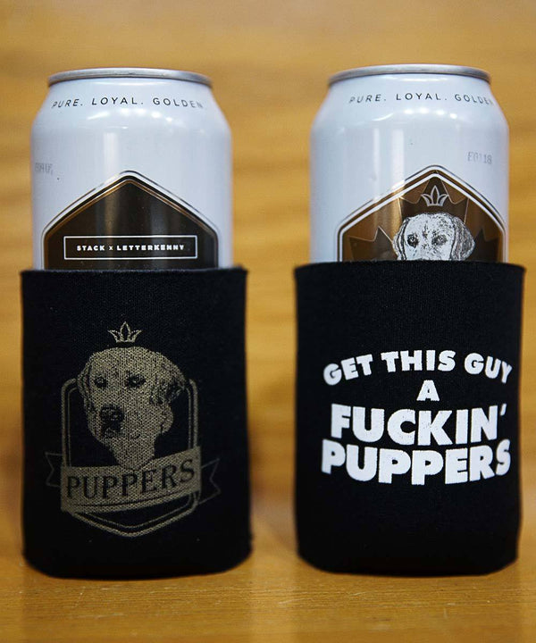 Puppers Beer Cozy