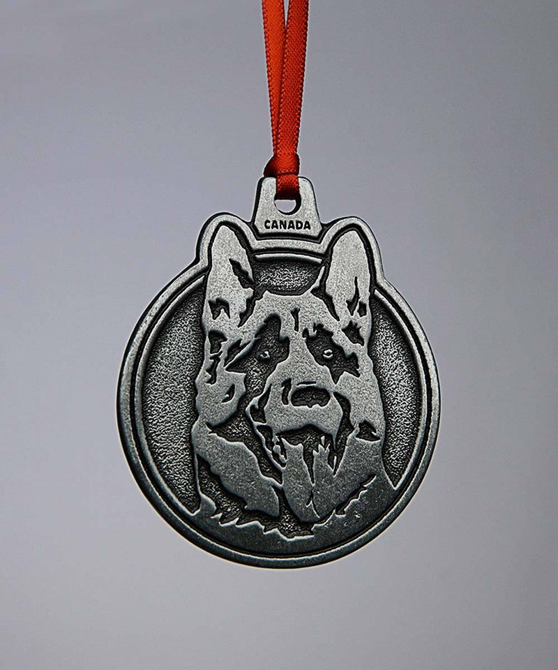 Letterkenny Dog Head Metal Ornament
