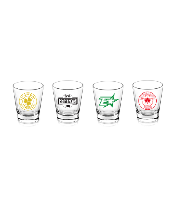 Teams Shot Glass Set