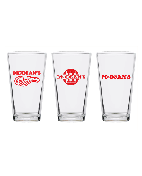 Modean's 3-Pint Glass Set