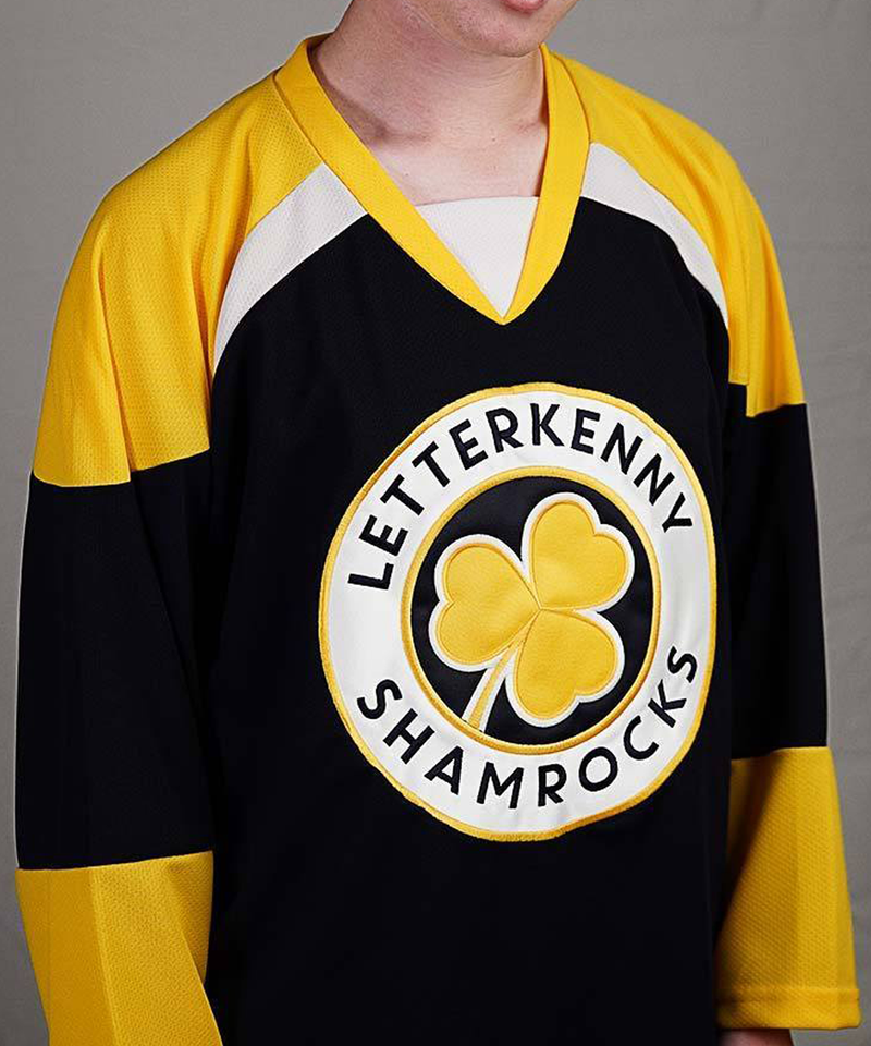 Letterkenny Shamrocks Hockey Jersey - Flash Sale