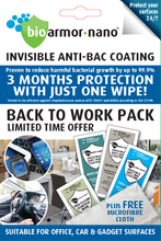 Load image into Gallery viewer, Bioarmor-Nano®  Active Surface Protection from Germs & Viruses* BACK TO WORK PACK - TRADE & SHOP - 'COMBO' pack - Bioarmor Nano