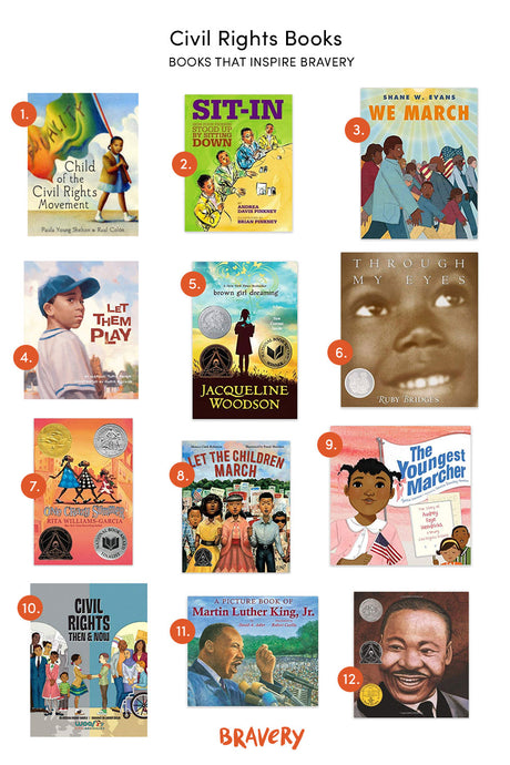 Books That Inspire Bravery: Civil Rights Books