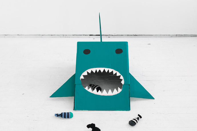 Easy Hungry Shark Game DIY