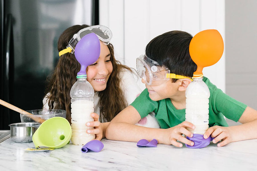Kid-friendly Kitchen Chemistry